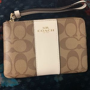 Coach Brown and Cream Wallet